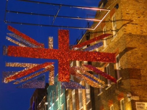 Carnaby Street Jubilee Display