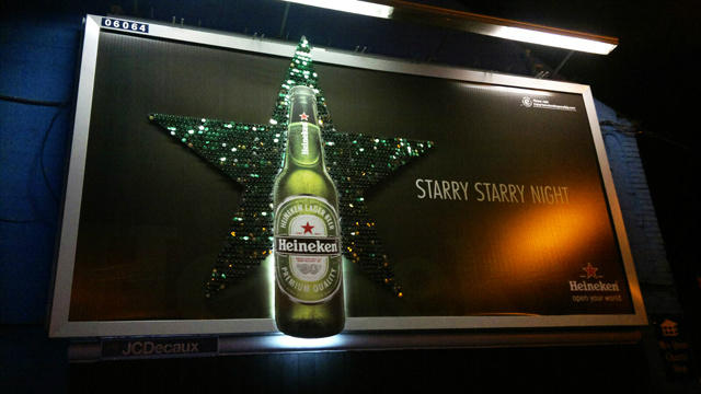 Heineken Billboard, Dublin, Ireland