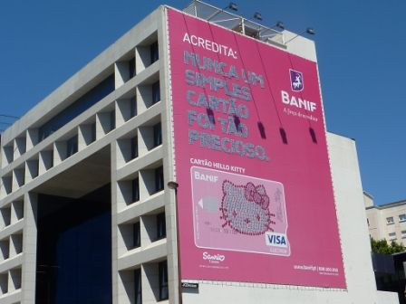 Hello Kitty Billboard